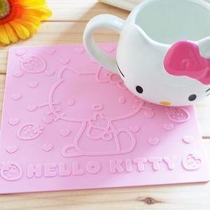 Hello Kitty Kitchen - Hello Kitty Silicon Insulated Pad Mat Kitchen